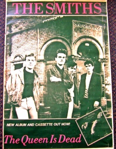 Australian promotional poster for The Queen is Dead LP