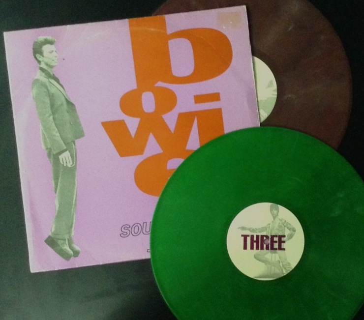 Coloured vinyl and Bowie go hand in hand