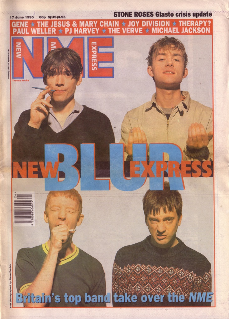 The NME was a staple of my reading diet in 1995