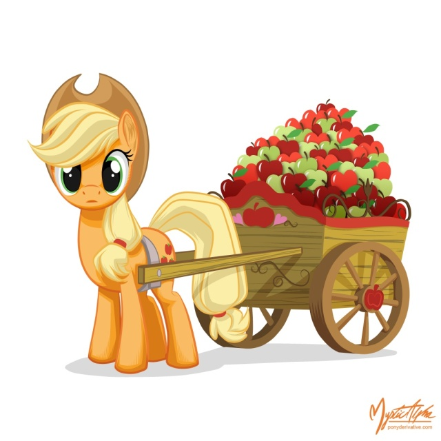 applejack___apple_cart_by_mysticalpha-d4xtafq