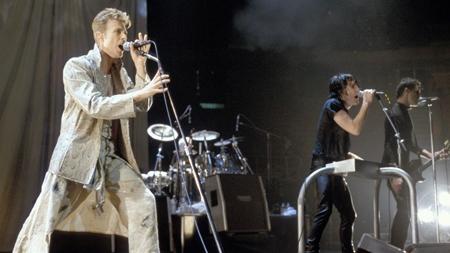David Bowie & Nine Inch Nails - Live @ Riverport Amphitheater, St Louis, USA, 11-10-1995